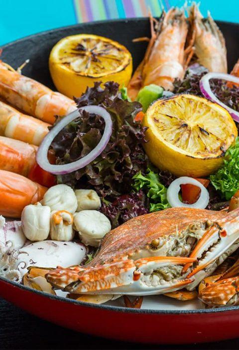 อาหาร Seafood