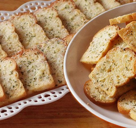 ขนมปังกระเทียม