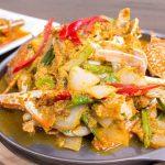 ปีกไก่ย่างกระเทียมพริกไทย เป็นเมนูที่หอมไปด้วยพริกไทยแถมอร่อยมาก ๆ