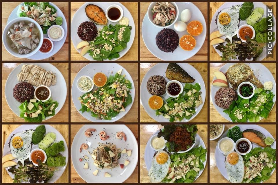 Clean food for healthy หลังมอชอ